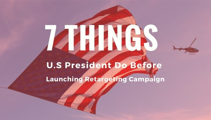 launching retargeting campaign