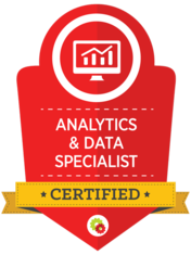 Analytic & data specialist certification
